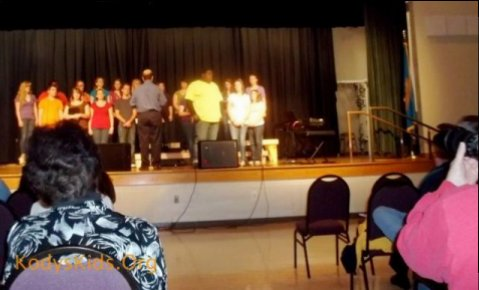 Kody's Kids, Inc would like to thank the choirs, Sussex Tech Concert Choir, Encore from Southern Delaware Schools of the Arts and Indian River HS Chamber Choir for making this event a succuss.