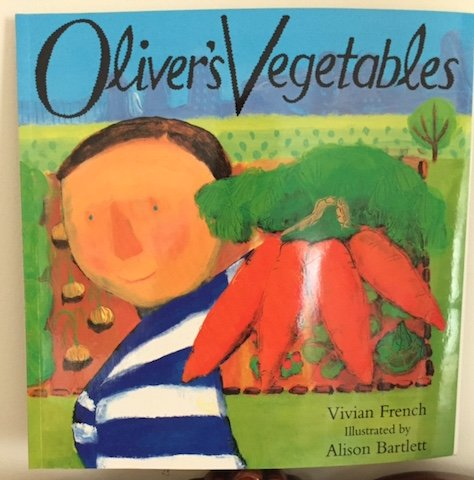Our book for learning about vegetables.