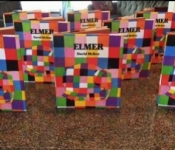 This seasons book will be left with each program we visit, Elmer