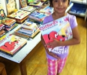 Children-picking out books.