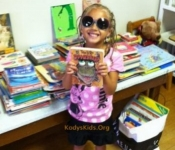 Children-picking out books to read.